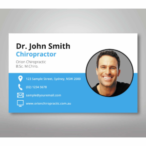 4-classic-chiropractic-business-cards 4