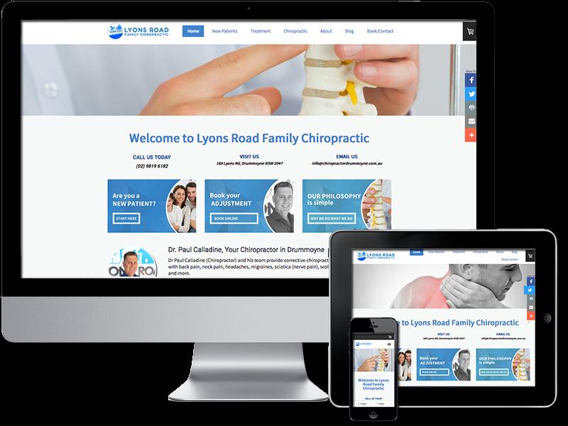 LRFC website example