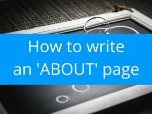 how-to-write-about-page